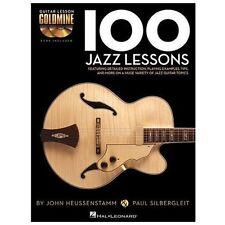 100 Jazz Lessons - Guitar Lesson Goldmine Series (book/cd): By John Heussenst...