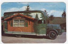 Alpine Alpa Cheese Chalet Mobile Truck Wilmot Ohio postcard