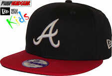 New Era 9Fifty FL Kids Atlanta Braves Snapback Cap (Age 5 - 10 years)