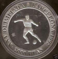 Olimpiada de Barcelona 1990 plata FUTBOL @@ PROOF @@
