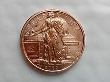 1 oz .999 Copper Zombucks Starving Liberty - 7th in series (low mintage 83,527)