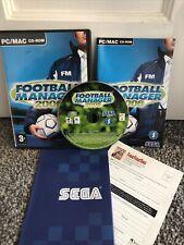 Fußball Manager 2006 PC Computer Sport Fußball Videospiel HANDBUCH PAL