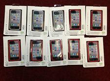 Mixed Lot of 7x Jivo Ji1183 Red and 3x Jivo Ji1184 Smoke Screen Iphone 4/4s Case