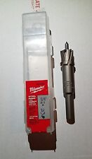 """New Milwaukee Steel Hawg Tooth Cutter 13/16"""" 49-57-8081"""