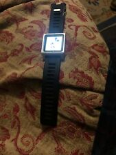 Apple iPod nano 6th Generation Silver (8GB) - Great Condition, With Watch Strap