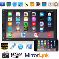 7'' 2Din Car Stereo HD MP5 Player Touch Screen Bluetooth FM Radio LCD TF/AUX/USB