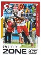 2017 Panini Score Football No Fly Zone #12 Eric Berry Chiefs