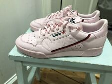 Adidas Originals Continental 80 Classic Pink Leather Trainers Size11.5 Brand New