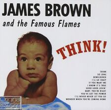 JAMES AND THE FAMOUS FLAMES BROWN - THINK  CD NEUF