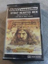 MUSIC CASSETTE STOUT-HEARTED MEN EIGHTH FESTIVAL OF 1000 WELSH MALE VOICES