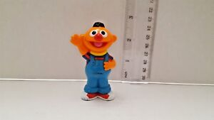 ERNIE stamped HENSON Sesame Street plastic figurine about 2.75 inches tall