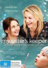 My Sister's Keeper DVD Movie NEW Cameron Diaz Abigail Breslin Alec Baldwin R4