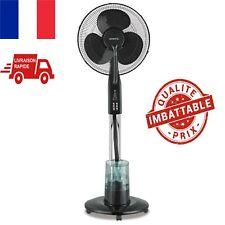 Ventilateur Brumisateur Sur Pied Silencieux Oscillation Télécommande Fraîcheur
