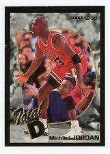 1992-93 Fleer #5 Michael Jordan Total D. EX