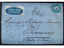 France 25 Cent 1873 Brive Channay Targhetta Pubblicita Bella