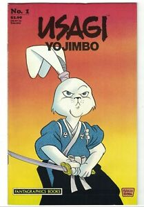 Usagi Yojimbo (Vol. 1) #1 (2nd) VF/NM; Fantagraphics | 1st appearance Katsuichi