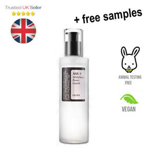 COSRX AHA 7 Whitehead Power Liquid Glycolic Acid 7% Chemical Exfoliant UK SELLER