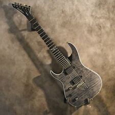 Washburn Left Handed Parallaxe PXS10EDLXTBMLH Flame Trans Black Lefty Guitar
