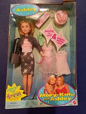 New in Box Mary-Kate & Ashley Doll Ashley 1999 Mattel Dancing/Pajama Party