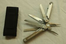 LEATHERMAN  WAVE PLUS MULTI-TOOL W/ CASE - STAINLESS