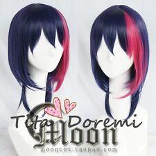 Halloween Wig Cosplay B-Project Korekuni Ryuji blue mix party fashion Short Hair