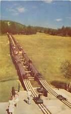 1951 Skimobile Base Station Mt. Cranmore North Conway N.H. Kodachrome Postcard