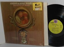 1970 JOHNNY & JONIE MOSBY LP Oh, Love Of Mine in Shrinkwrap Country Duets Ex/VG+