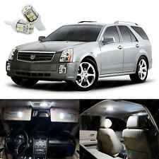 18 x Xenon White LED Interior Lights Package Kit For Cadillac SRX 2004 - 2009