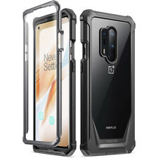 OnePlus 8 Pro Case,Poetic Hybrid Armor Shockproof Bumper Protective Cover Black