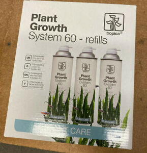 Tropica Plant Growth System 60 refill x3 CO2 Cylinders