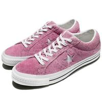 Converse One Star Suede Pink White Men Women Classic Shoes Sneakers 159492C