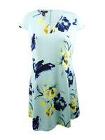 Alfani Women's Plus Size Printed Fit & Flare Dress