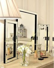 Glass Frame Freestanding Dressing Table Decorative Mirrors