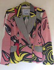 Rare Moschino Cheap&Chic Roy Lichtenstein Pop Art Women's Designer Jacket/Blazer