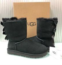 New UGG Australia Women's Bailey Bow II Boots Shoes 1016225 Black 8