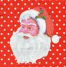 4 Motivservietten Servietten Napkins Tovaglioli Weihnachtsmann Nikolaus (1007)
