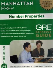 Number Properties GRE Strategy Guide, 3rd Edition   SC BOOK