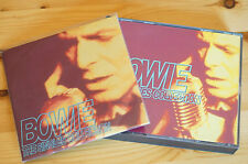 David Bowie Singles Collection 2 cd plus Sampler 10 Track Series Promo Mega Rare