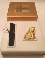 Estee Lauder White Linen KING CHARLES SPANIEL Figural Compact Solid Perfume 2001