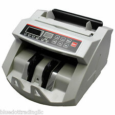 NEW! MONEY BILL CASH COUNTER BANK MACHINE COUNT CURRENCY COUNTING UV COUNTERFEIT