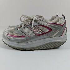 Skechers Shape Ups Shoes 11814 White/Pink Women's US Size 8.5 Rockers Walking