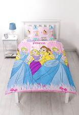 Disney Princess Boulevard Single Cover Duvet Set Quilt Kids Bedding Reversible