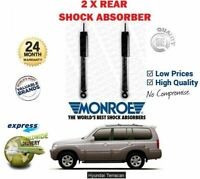 FOR HYUNDAI TERRACAN 2.5 2.9 3.5 2001-2006 REAR LEFT + RIGHT SHOCK ABSORBERS SET