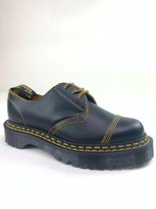 Dr. Martens Unisex 1461 Bex Ds Oxfords Shoes Black Leather Lace Up W 8 M 7 New