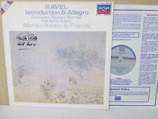 ZRDL 1008 *HAND SIGNED* MARISA ROBLES, HARP- Ravel Introduction & Allegro etc LP