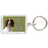 Keep Calm And Love Your Springer Spaniel – Keyring