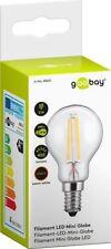 7 x Filament-LED-Mini-Globelampe, 4 W - Sockel E14, ersetzt 39 W, warm-weiß
