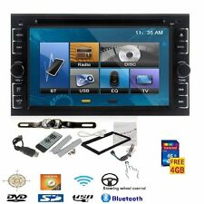 "On Sale 2 Din 6.2"" In Dash Car DVD Player MP3 Bluetooth Autoradio with Camera"
