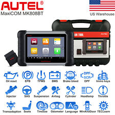 Autel MK808BT Auto Diagnostic Tool All System OBD2 Fault Code Reader Scanner ABS