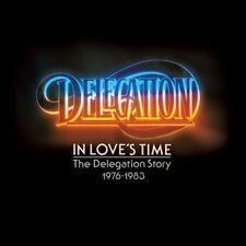 DELEGATION - IN LOVE'S TIME-THE DELEGATION STORY 1976-83/2CD  2 CD NEW